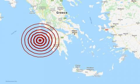 Σεισμός ΤΩΡΑ στη Ζάκυνθο - Αισθητός μέχρι την Ιταλία (pics)