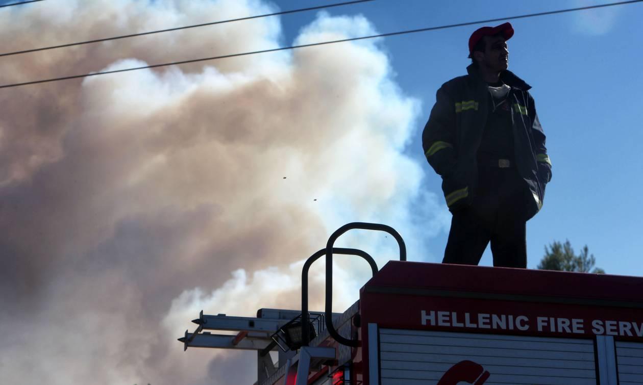 Φωτιά Σιθωνία Χαλκιδικής: Συνεχίζεται η μάχη με τις φλόγες