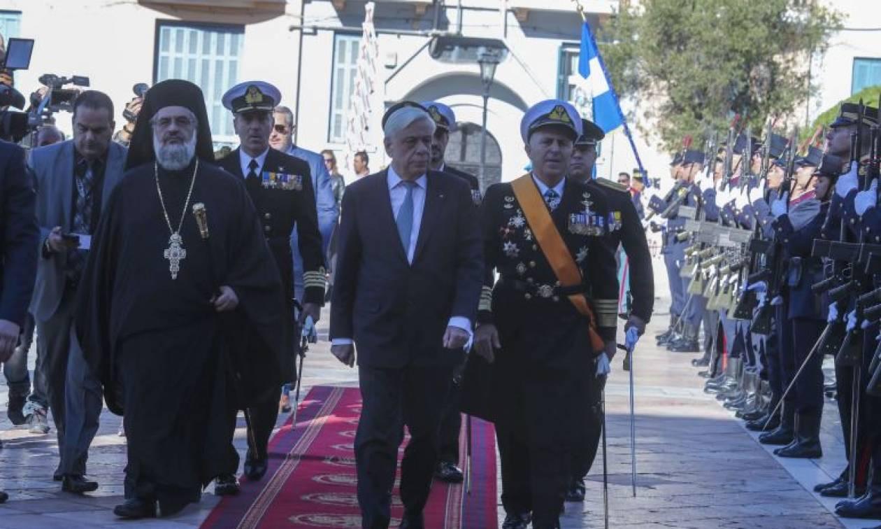 Μήνυμα Παυλόπουλου από τη Θεσσαλονίκη για την υπεράσπιση των εθνικών μας δικαίων