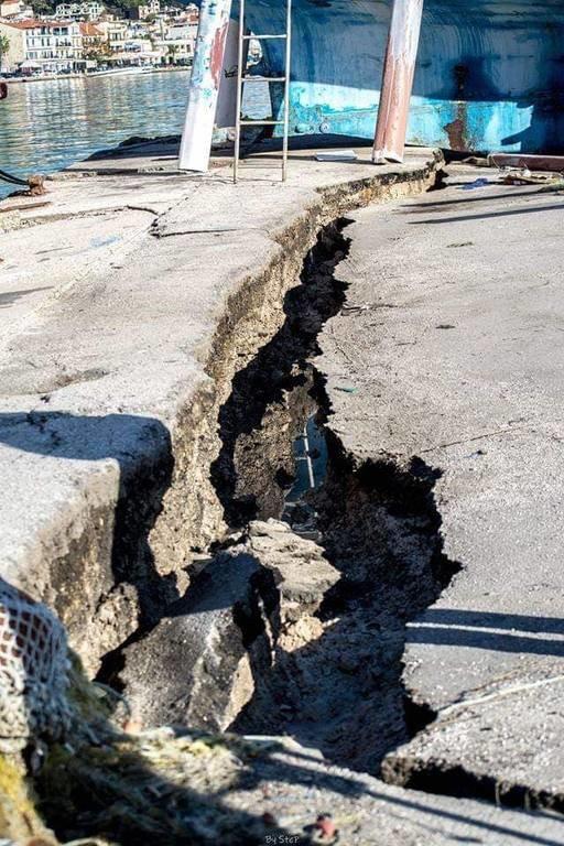 Σεισμός Ζάκυνθος: Δείτε συγκλονιστικές φωτογραφίες λίγη ώρα μετά τον σεισμό