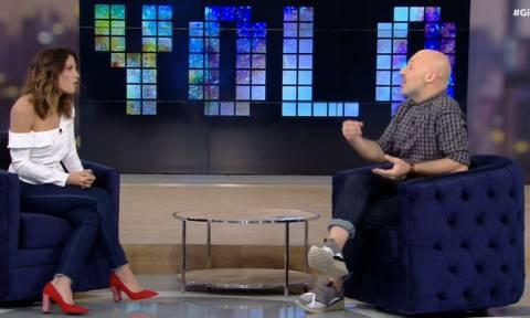 Μαίρη Συνατσάκη: Ο Μουτσινάς τη ρώτησε για τον νέο της σύντροφο και δείτε πώς αντέδρασε