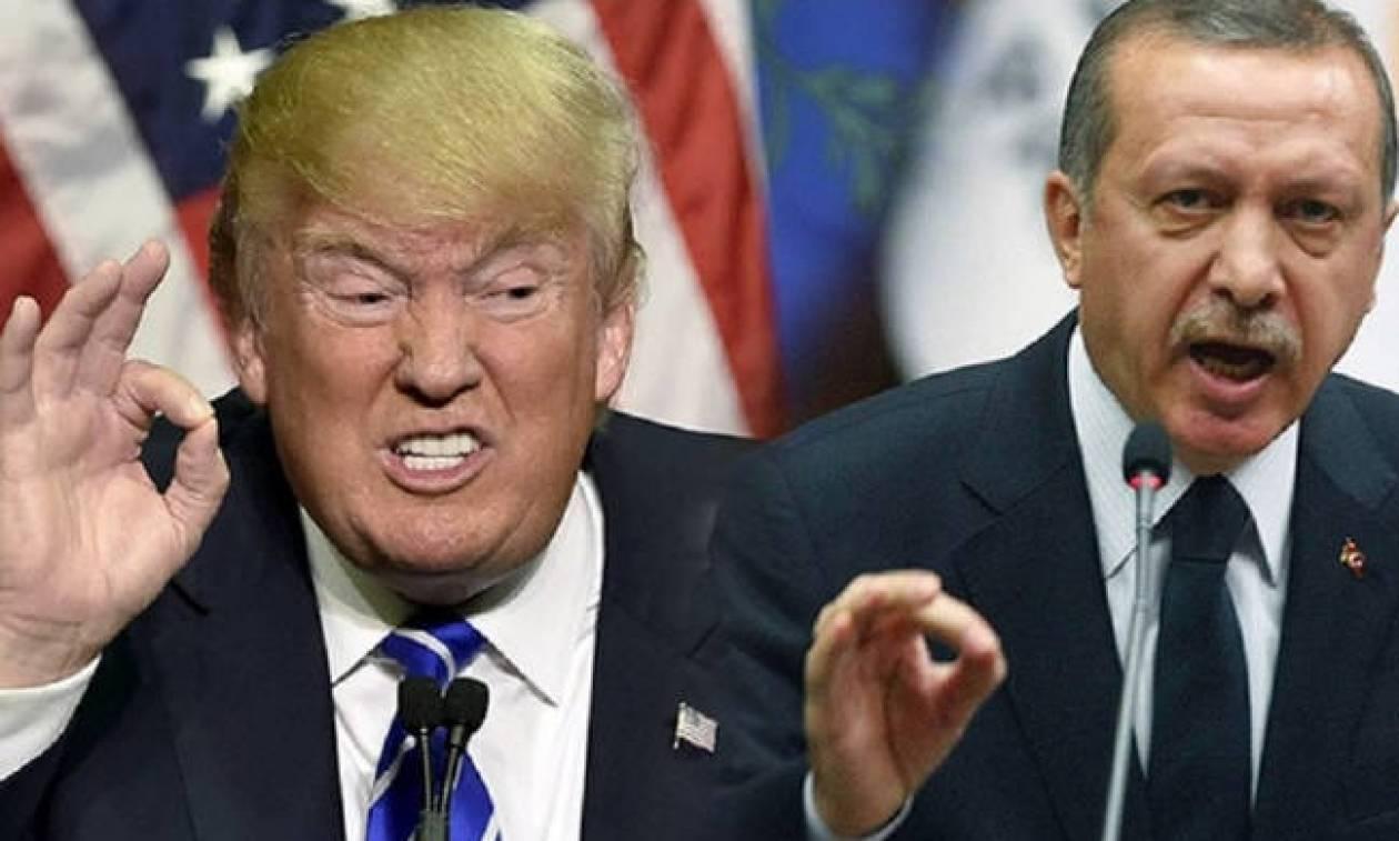 «Έξαλλος» ο Τραμπ με τον Ερντογάν: Έρχονται νέες σκληρές κυρώσεις κατά της Τουρκίας