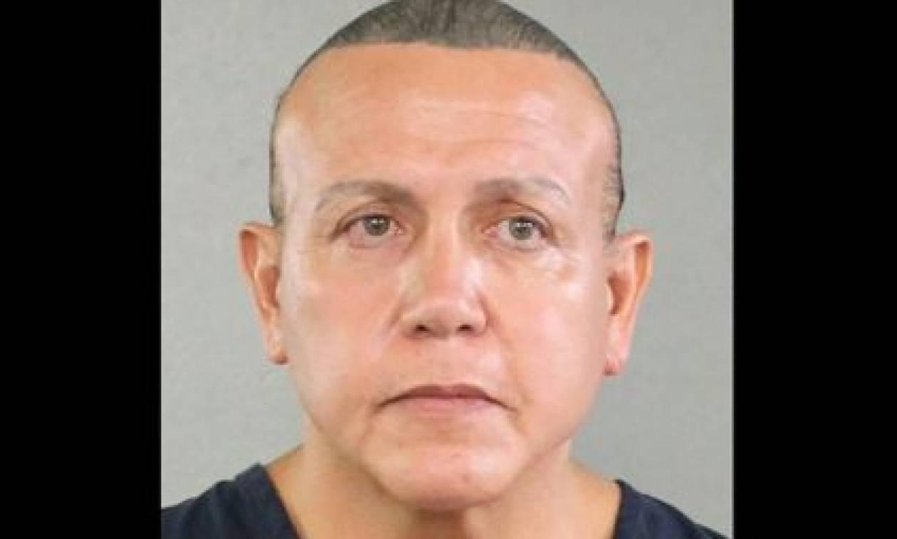ΗΠΑ: Πέντε κατηγορίες για κακουργήματα σε βάρος του άνδρα που έστελνε τα τρομο-δέματα (pics+vid)