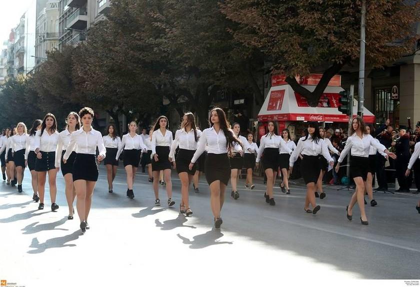 Μεγάλη μαθητική παρέλαση στη Θεσσαλονίκη (pics+vid)