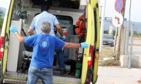 Τραγωδία στις Σέρρες: Τροχαίο δυστύχημα με ανατροπή αυτοκινήτου