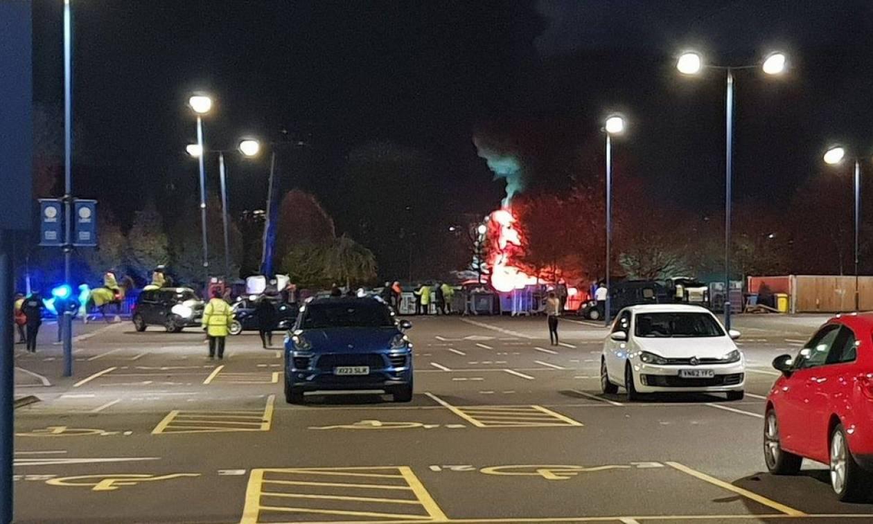 Τραγωδία στο Λέστερ: Συνετρίβη το ελικόπτερο του ιδιοκτήτη της ομάδας (photos, videos)