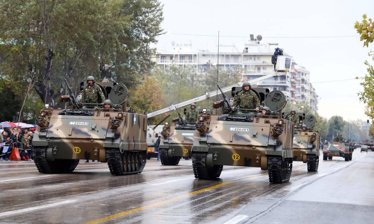 28η Οκτωβρίου: Όλα έτοιμα για τη μεγάλη στρατιωτική παρέλαση στη Θεσσαλονίκη