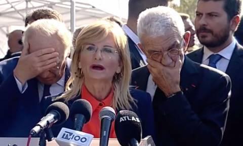 28η Οκτωβρίου: «Αρπάχτηκαν» ξανά on camera Λεβέντης - Μπουτάρης στη Θεσσαλονίκη (vid)