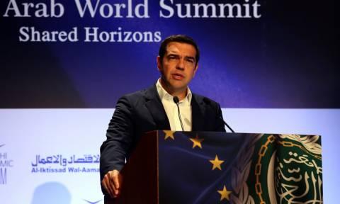 Τσίπρας: Η Ελλάδα πυλώνας ειρήνης και σταθερότητας στο σταυροδρόμι τριών ηπείρων