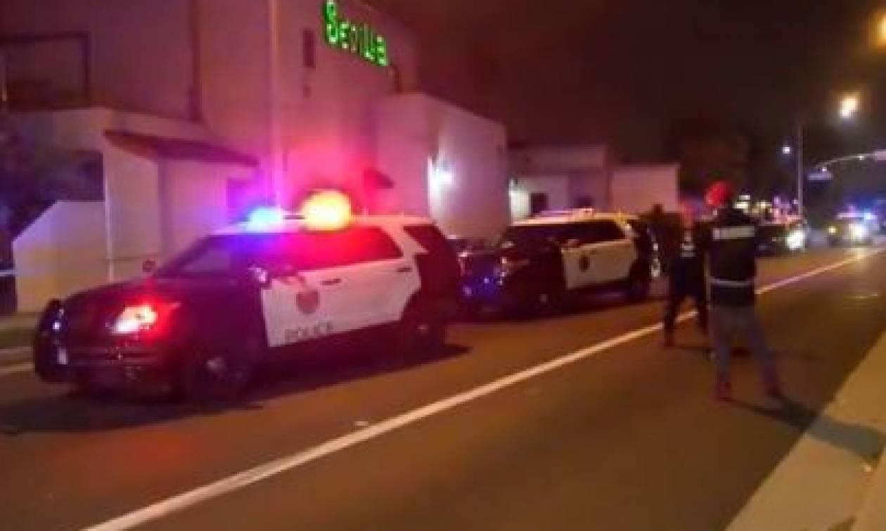 Πυροβολισμοί σε κλαμπ στο Λος Άντζελες: Αναφορές για τραυματίες (vid)