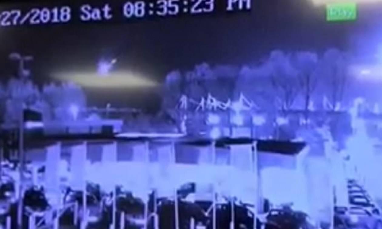Βίντεο ντοκουμέντο: Έτσι έπεσε το ελικόπτερο του προέδρου της Λέστερ – Ήρωας ο πιλότος
