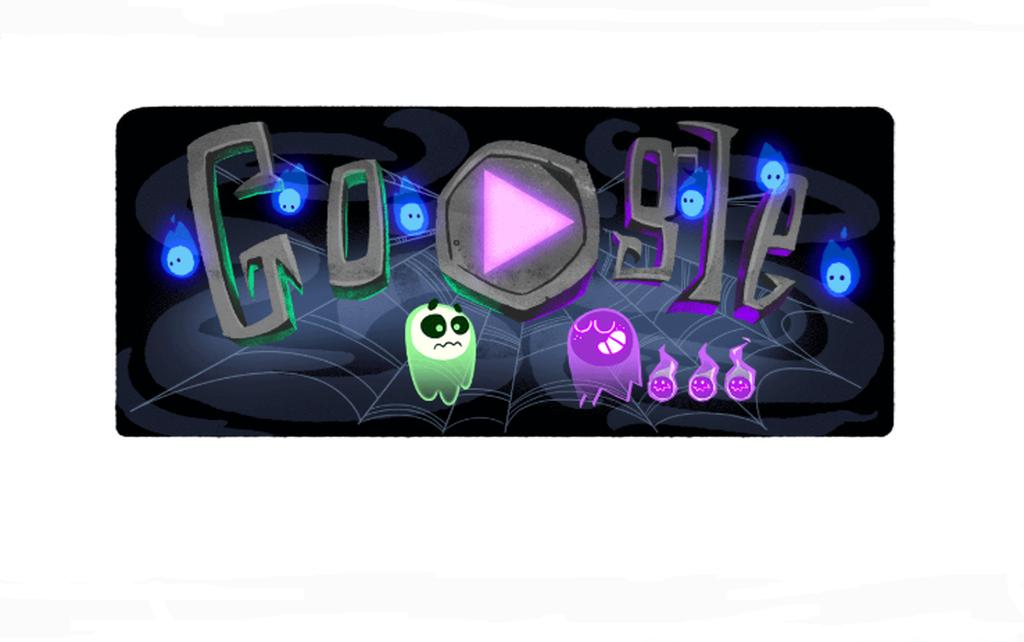 Halloween: H Google γιορτάζει με ένα Doodle που υπόσχεται να σας καταπλήξει (Vid)