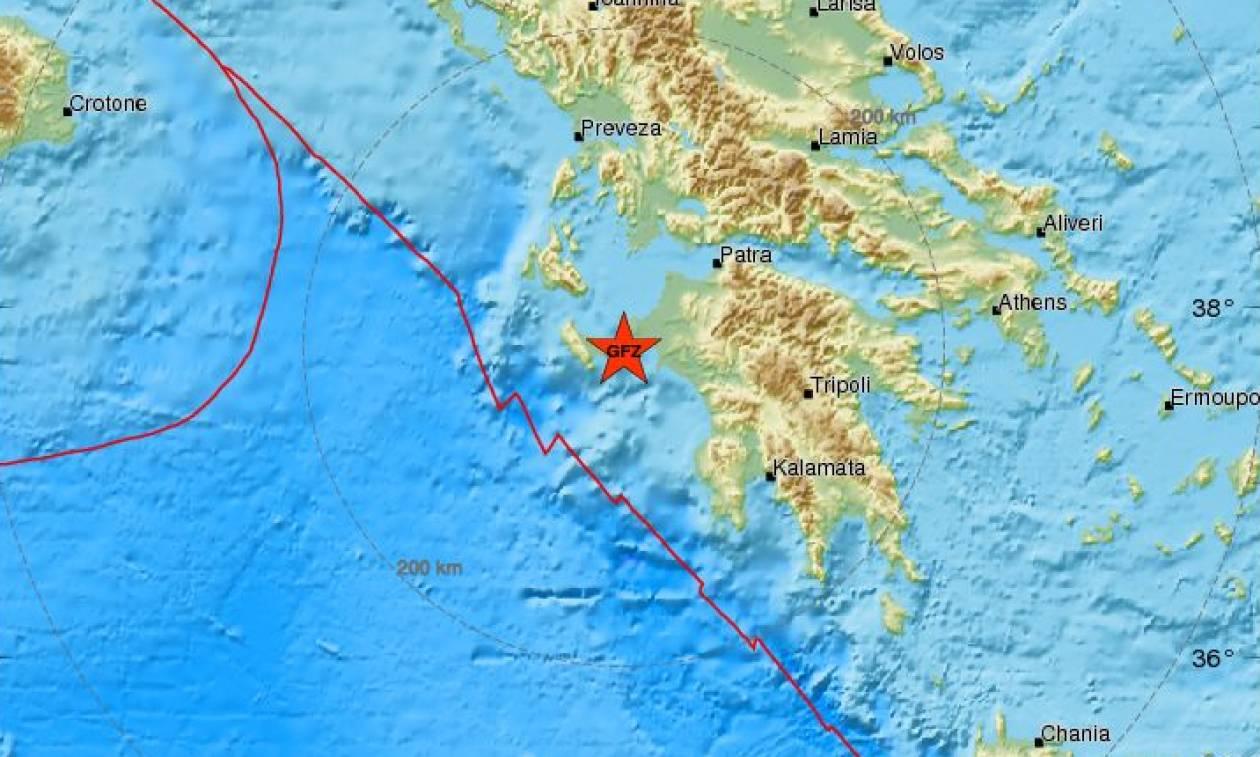 Σεισμός: Ισχυρός μετασεισμός κοντά στη Ζάκυνθο (pics)
