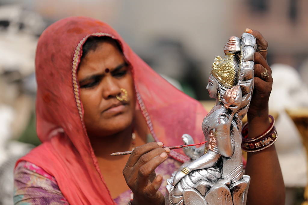 Κάθε χρόνο στην Ινδία το καλό «νικά» το κακό (pics)