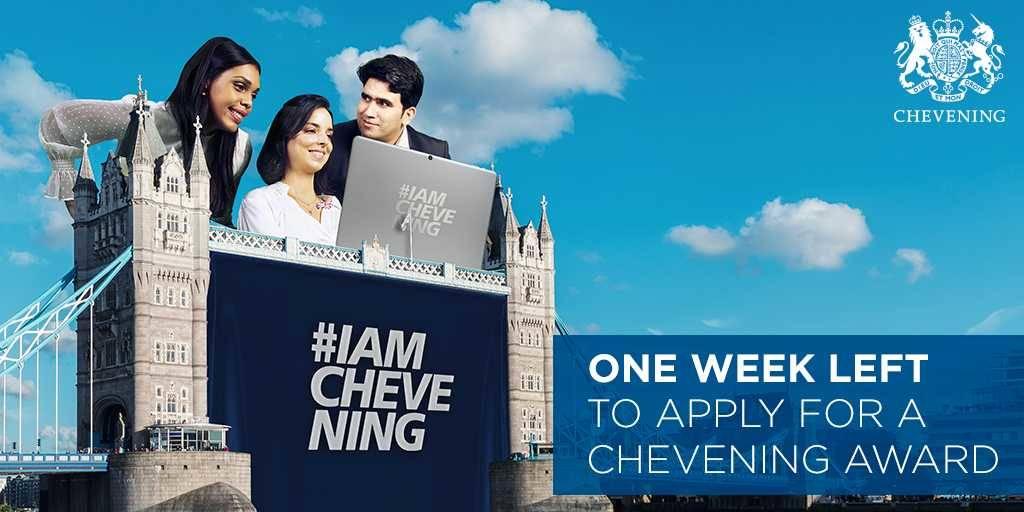 Μέχρι τις 6/11 οι αιτήσεις για την υποτροφία Chevening για μεταπτυχιακό στο Ην. Βασίλειο