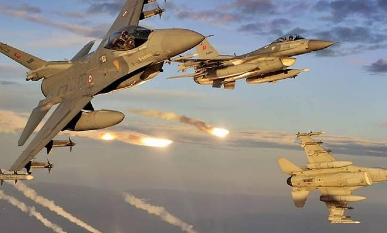 Νέα εικονική αερομαχία πάνω από το Αιγαίο