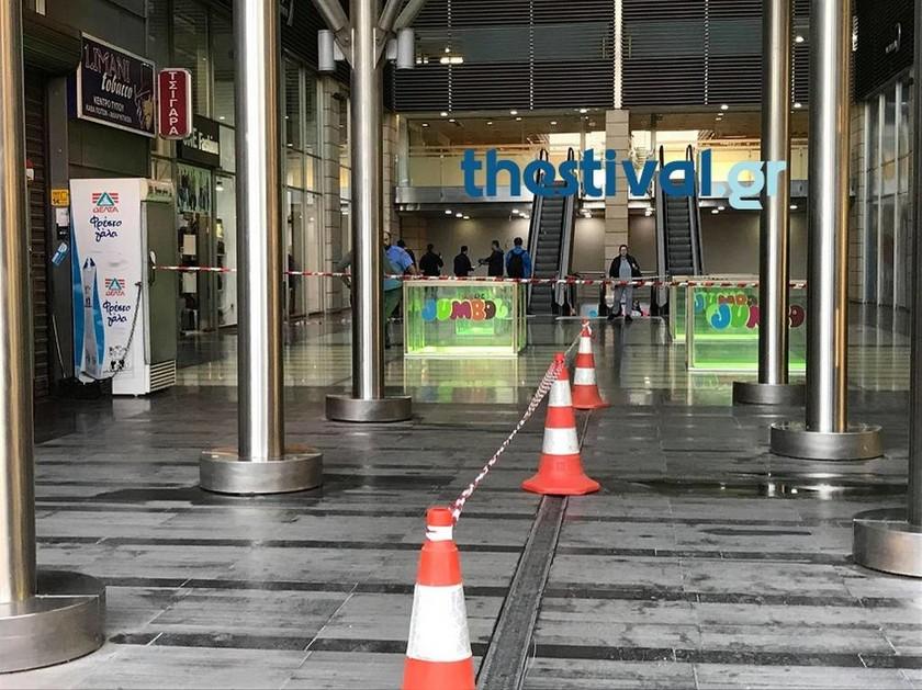 Τραγωδία στη Θεσσαλονίκη: Άνδρας βούτηξε στο κενό από τον πέμπτο όροφο εμπορικού κέντρου