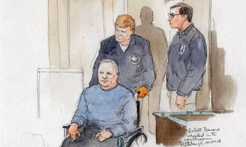 Πίτσμπεργκ: Αντιμέτωπος με 44 κατηγορίες ο δράστης του μακελειού στη συναγωγή (Pics+Vids)