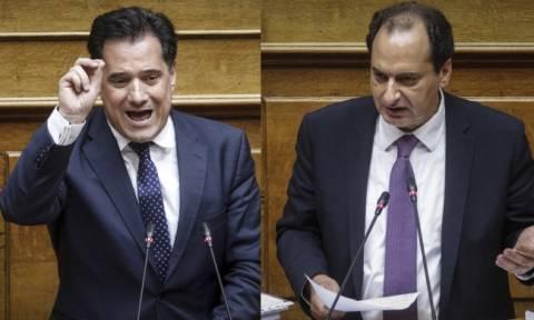 Καβγάς στη Βουλή - Γεωργιάδης: Τέτοια λαμογιά δεν έχω ξαναδεί - Σπίρτζης: Είσαι παραπληροφορημένος