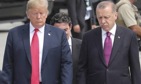 Τηλεφωνική επικοινωνία Τραμπ με Ερντογάν