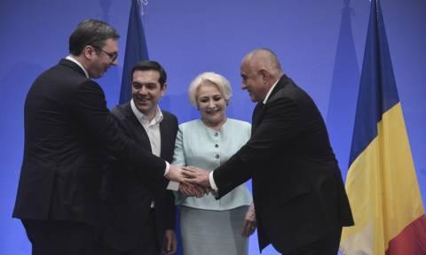 Στην Τετραμερή Σύνοδο Ελλάδας - Βουλγαρίας - Σερβίας - Ρουμανίας ο Αλέξης Τσίπρας
