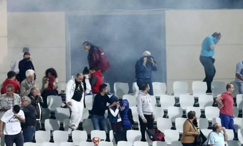 Παναχαϊκή – Ολυμπιακός: Η σύγκρουση οπαδών – ΜΑΤ στην Πάτρα (video)