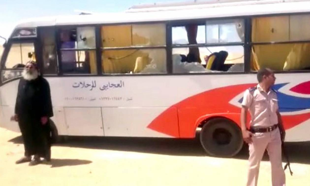 Μακελείο στην Αίγυπτο: Δέκα νεκροί από επίθεση σε λεωφορείο χριστιανών