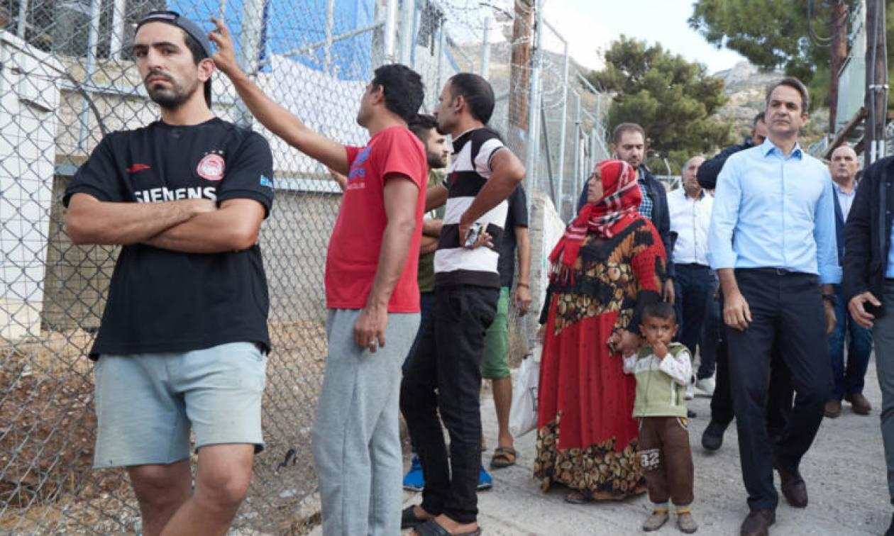 Προ ημερησίας συζήτηση για το μεταναστευτικό ζήτησε ο Κυριάκος Μητσοτάκης
