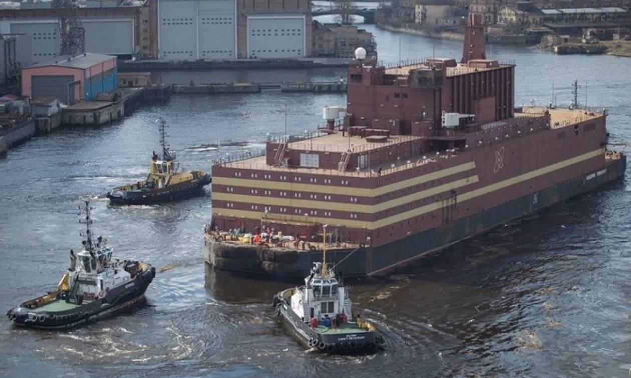Ρωσία: Σε λειτουργία ο πρώτος πλωτός πυρηνικός σταθμός παραγωγής ηλεκτρικής ενέργειας