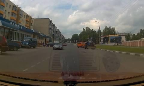 Οδηγούσε και... τραγουδούσε όταν ξαφνικά έγινε το μοιραίο (video)