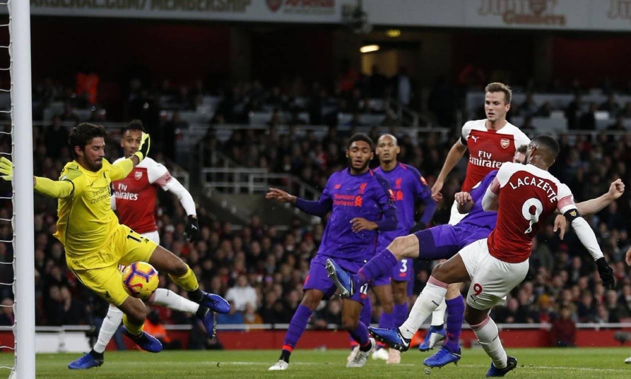 Premier League: Συμβιβάστηκαν στην ισοπαλία Άρσεναλ και Λίβερπουλ (photos+video)