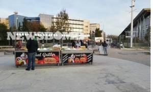 Παρεμπόριο έξω από το ΟΑΚΑ - Όργιο φοροδιαφυγής (pics & videos)
