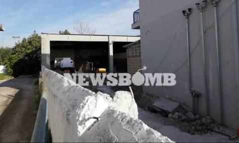 Το Newsbomb.gr στο βενζινάδικο της νοθείας στην Ελευσίνα: Οι μπουλντόζες αποκάλυψαν την κομπίνα