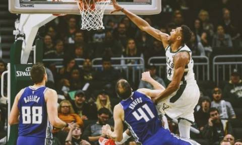 NBA: Τριπλός Γιάννης στο Top-10! (video)