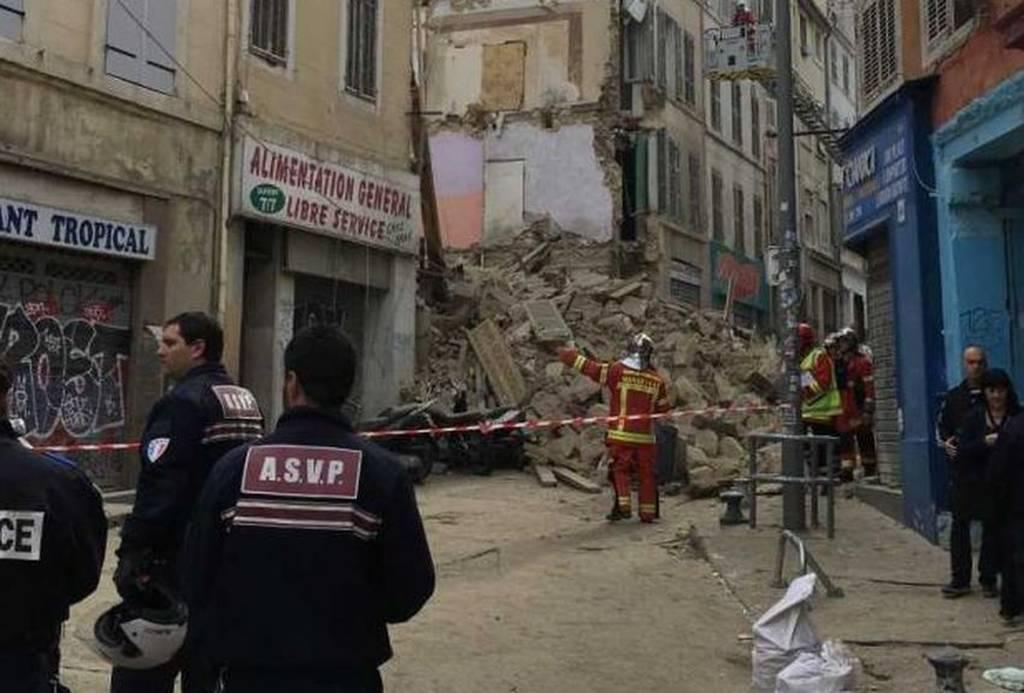 ΕΚΤΑΚΤΟ - Συναγερμός στη Γαλλία: Κατέρρευσε κτήριο στη Μασσαλία