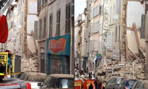 Συναγερμός στη Γαλλία: Κατέρρευσαν κτήρια στη Μασσαλία (Pics+Vid)