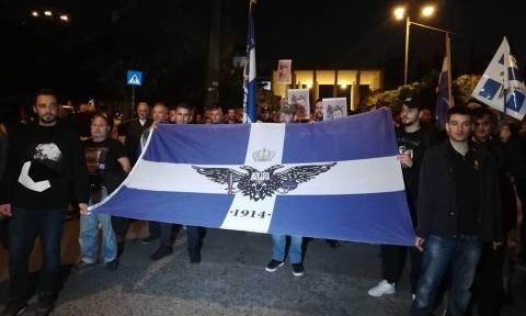 Επιμνημόσυνη δέηση και πορεία στο Σύνταγμα για τον Κωνσταντίνο Κατσίφα (pics+vids)