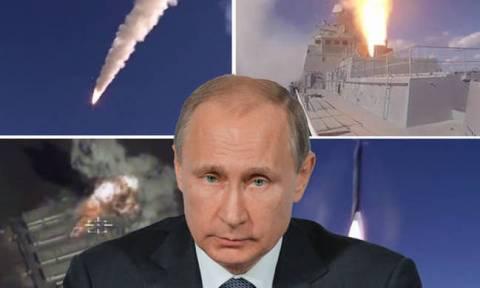 Σύννεφα πολέμου; Ο Πούτιν «πλημμυρίζει» τη Μεσόγειο με πολεμικά πλοία και υποβρύχια (Vids)