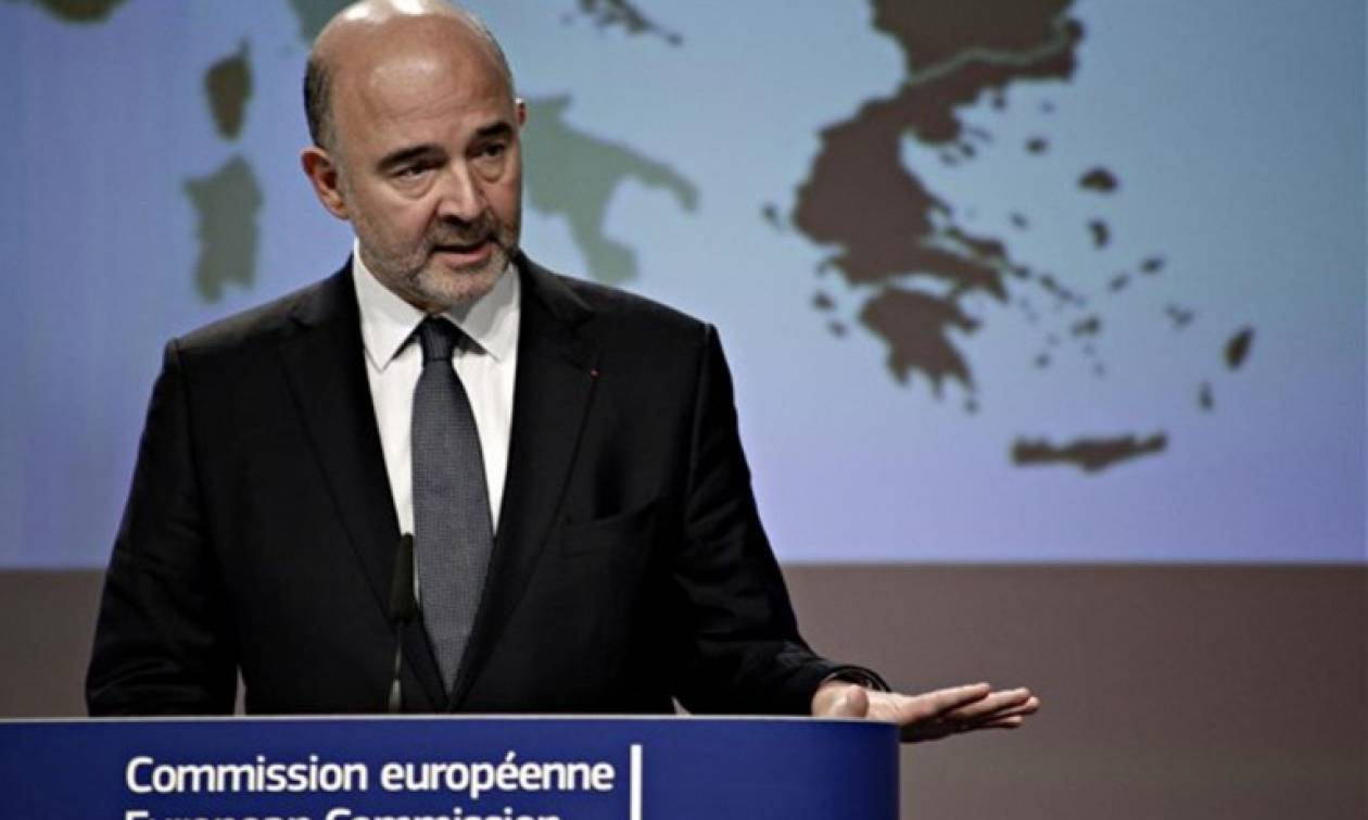 Μοσκοβισί για συντάξεις: Η Κομισιόν θα αξιολογήσει τα δημοσιονομικά περιθώρια της Ελλάδας