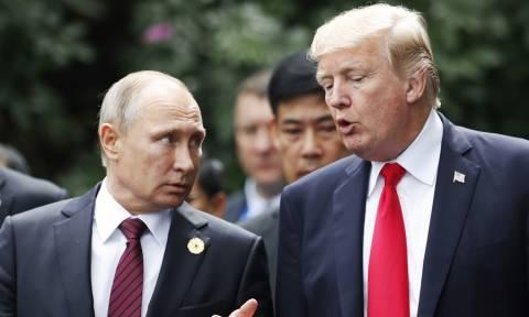 Στον «αέρα» η συνάντηση Τραμπ - Πούτιν στο Παρίσι