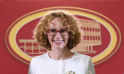 Προκαλεί η υπουργός Άμυνας των Σκοπίων: Ζητά να κοπεί το «Μακεδονία ξακουστή» από τις παρελάσεις!