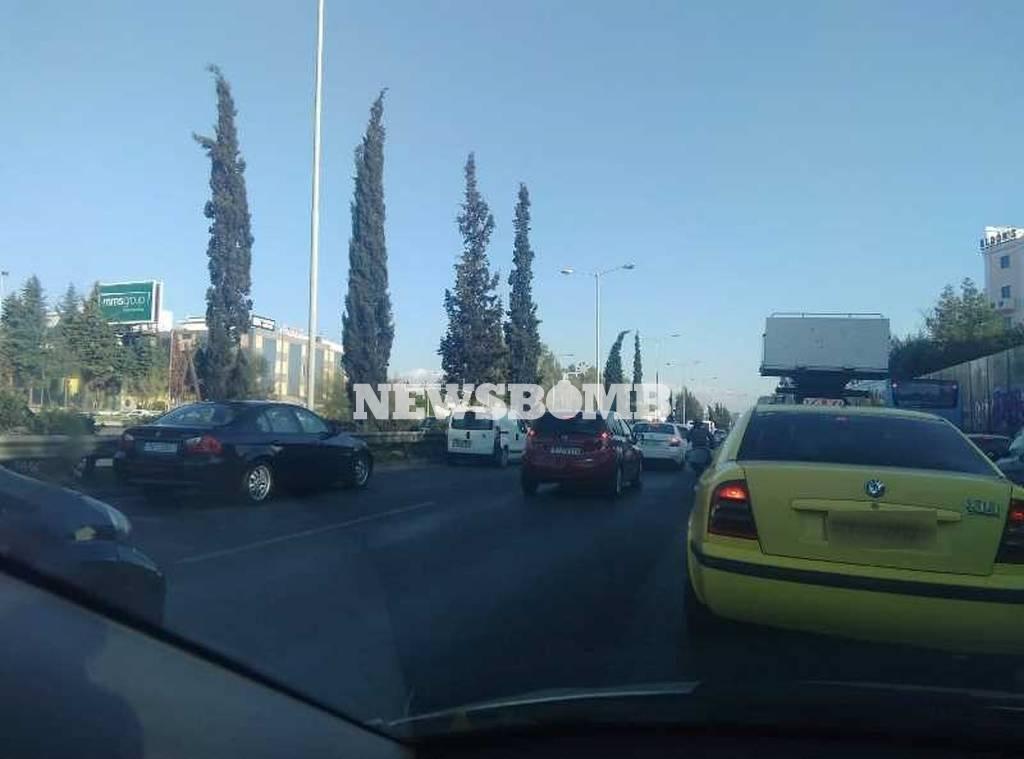 Κίνηση ΤΩΡΑ στους δρόμους της Αθήνας: Πού παρατηρούνται προβλήματα