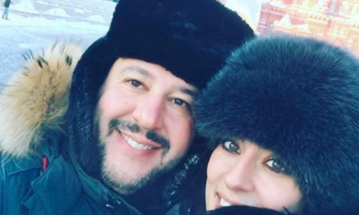 Με ανάρτηση στο Facebook απαντά ο Σαλβίνι στη σύντροφό του που τον χώρισε μέσω Instagram (Pics)