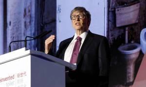 Ο Μπιλ Γκέιτς παρουσίασε τις τουαλέτες του μέλλοντος