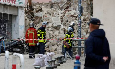 Μασσαλία: Τέσσερις οι νεκροί από την κατάρρευση των δύο κτηρίων