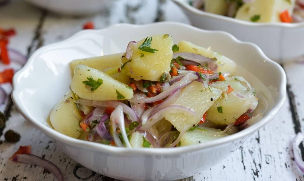 Φτιάξτε μία νόστιμη και δροσερή πατατοσαλάτα