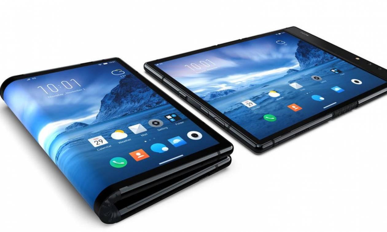 Δείτε το πρώτο ευλύγιστο smartphone! (vid+pics)