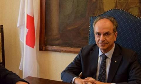 Ασφαλιστικά μέτρα κατά του νέου προέδρου του Ερυθρού Σταυρού από τον Οικονομόπουλο