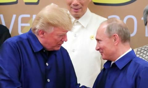 Πούτιν και Τραμπ θα τα πουν... «στο πόδι» στο Παρίσι