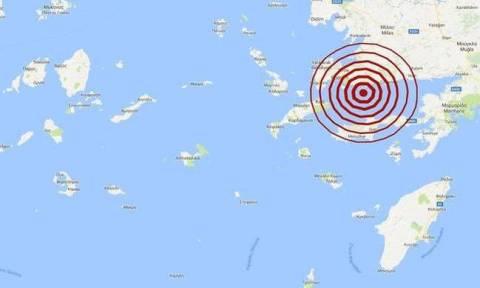 Σεισμός: Διπλή σεισμική δόνηση κοντά στην Κω (pics)